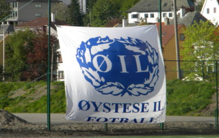 Øystese Fotball flagg