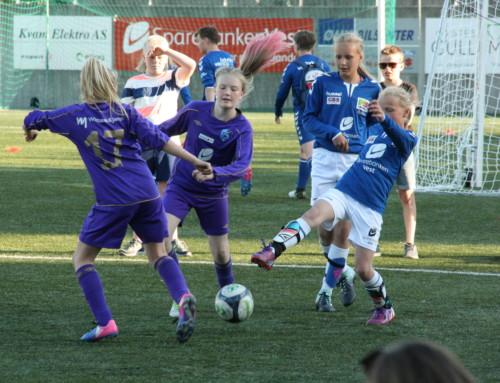 God jentedag for Øystese Fotball